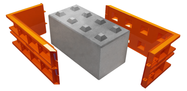 betonové lego bloky