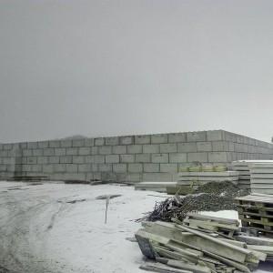 AVE Čáslav – opěrná stěna – rekultivace skládky