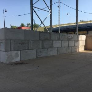 Dělící stěna na rozdělení materiálu – ROCKWOOL BOHUMÍN