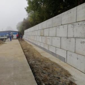 Veran s.r.o. – opěrná stěna – Kovošrot