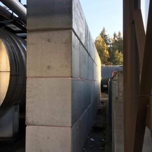 Protipožární stěna – Milín