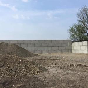Opěrná stěna – Zbýšov
