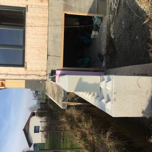 Opěrní zdi u RD – Hrušovany u Brna
