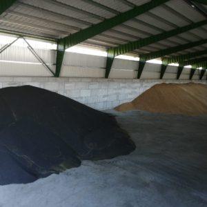 Močovice -hala na skladování obilí