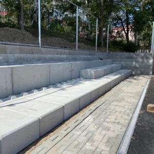 Jirkov – tribuna