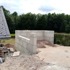 Megabeton - betonový blok - lego