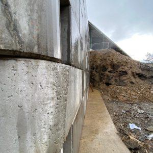 Vysoké n/J – opěrná stěna MegaBeton